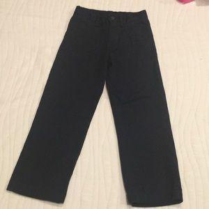 Boys Navy Polo Pants